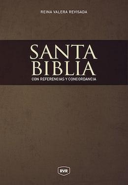 Santa Biblia Reina Valera Revisada RVR, con Referencias y Concordancia, Tapa Dura