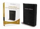 Biblia Reina Valera 1960 Edición Portátil con Cierre, Letra Grande, Tamaño Manual, Leathersoft, Negro, Edición Letra Roja / Spanish Bible RVR60 Lg Print