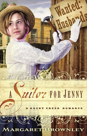 A Suitor for Jenny Paperback  by Margaret Brownley