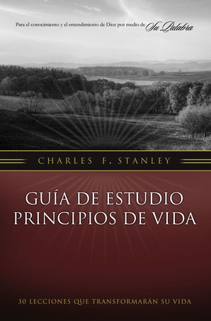 Guía de estudio Principios de Vida Paperback  by Charles F. Stanley