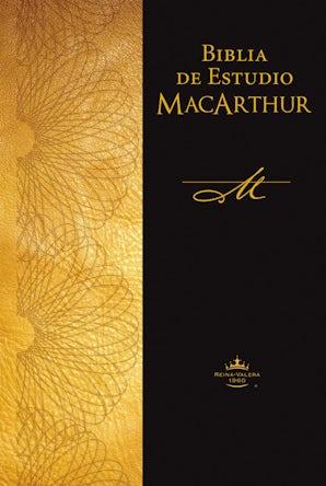 Reina Valera 1960 Biblia de estudio MacArthur, Tapa dura, Café, con Índice Hardcover  by John F. MacArthur