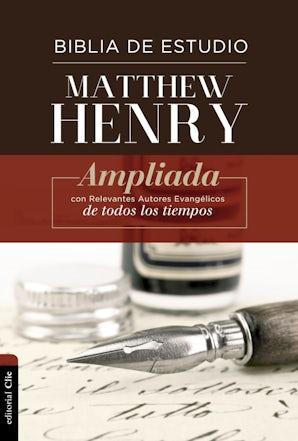 RVR Biblia de Estudio Matthew Henry, Tapa Dura, con índice book image
