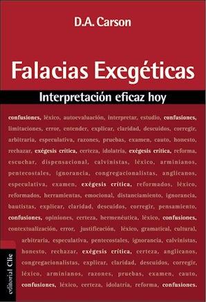 Falacias exegéticas book image