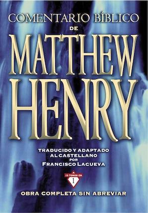 Comentario Bíblico Matthew Henry book image