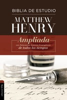 RVR Biblia de Estudio Matthew Henry, Tapa Dura